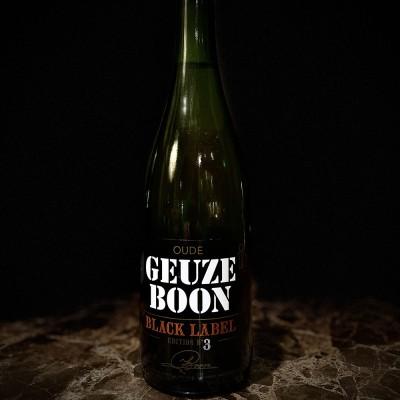 Birra Boon Oude Geuze Boon Black Label