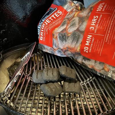 Briquettes Weber for BBQ