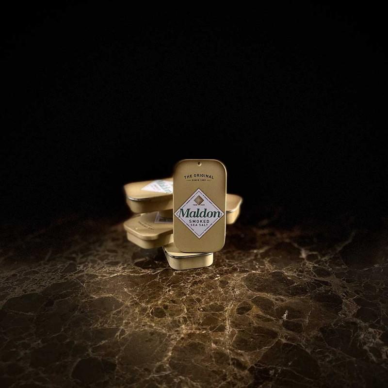 Fiocchi di sale marino affumicato Maldon Nano