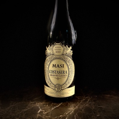 Vino rosso Amarone Costasera Masi Botte Veneto