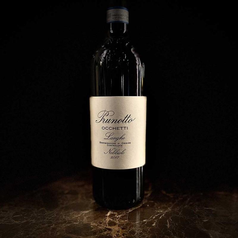 Vino rosso Occhetti Prunotto DOC Nebbiolo Piemonte